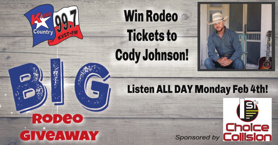 Cody Johnston Giveaway