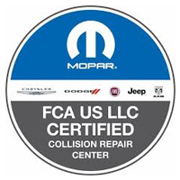 FCA Certified Collision Repair Partner In Conroe, Texas